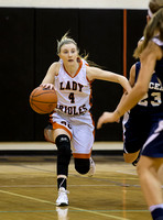 1/5/2016 Mercer vs Rocky Grove Girls Varsity Basketball